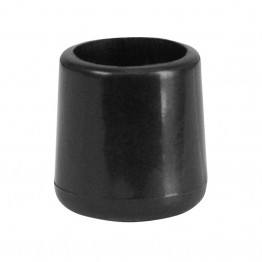 Flash Furniture Replacement Foot Cap in Black