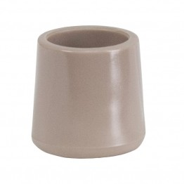 Flash Furniture Replacement Foot Cap in Beige