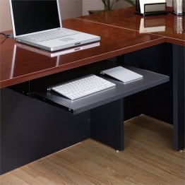 Pemberly Row Keyboard Shelf in Soft Black