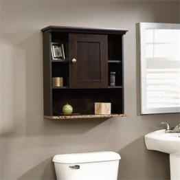 Pemberly Row Medicine Cabinet in Cinnamon Cherry