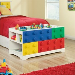 Pemberly Row Play Table in Soft White
