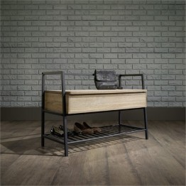 Pemberly Row Storage Bench in Charter Oak