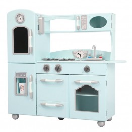 Teamson Retro Play Kitchen in Mint