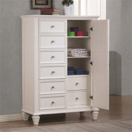 Bowery Hill Armoire in White