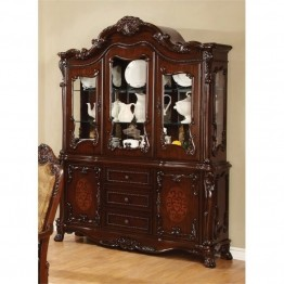 Bowery Hill China Cabinet in Dark Cherry