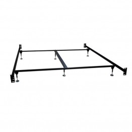 Bowery Hill California King Bed Frame in Black