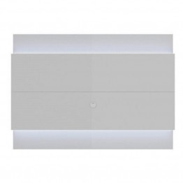 "Bowery Hill 77"""" LED TV Panel in Glossy White"