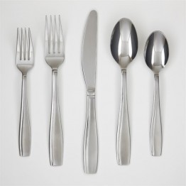 Farberware Allspice 45 Piece Flatware Set in Sand