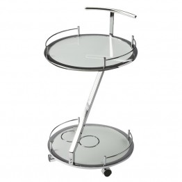 Butler Specialty Butler Loft Round Serving Cart in White