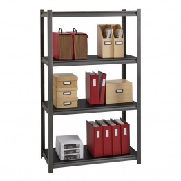 "Hirsh Iron Horse 3200 18"""" x 36"""" x 60"""" 4 Shelf Storage Unit in Gray"