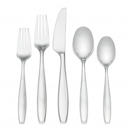 Lenox Classic Fjord II 5 Piece Stainless Steel Flatware Set