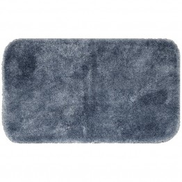 "Mohawk Home Spa 2' x 3' 4"""" Bath Rug in Slate"