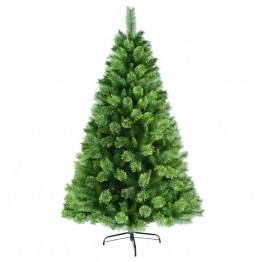 Jeco 6.5' Unlite Artificial Christmas Tree With Metal Base