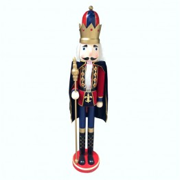Jeco Delux Nutcracker King with Cape