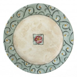 Corelle Impressions Watercolors Lunch Plate