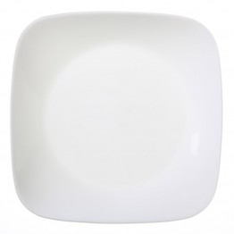 Corelle Square Lunch Plate in Pure White