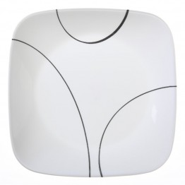 Corelle Square Simple Lines Lunch Plate
