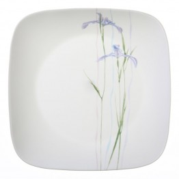 Corelle Square Shadow Iris Dinner Plate