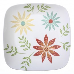 Corelle Square Happy Days Dinner Plate