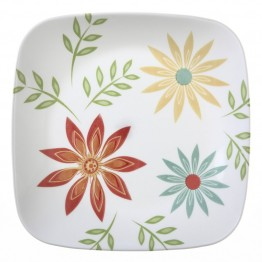 Corelle Square Happy Days Lunch Plate