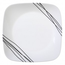 Corelle Square Simple Sketch Lunch Plate