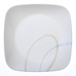 Corelle Square Sand and Sky Lunch Plate
