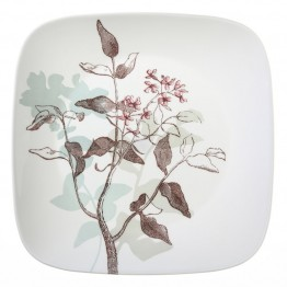 Corelle Square Twilight Grove Dinner Plate