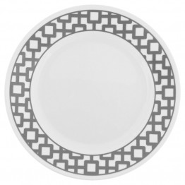 Corelle Impressions Urban Grid Lunch Plate