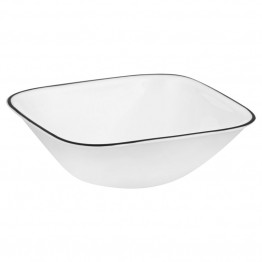 Corelle Square Timber Shadows Dining Bowl