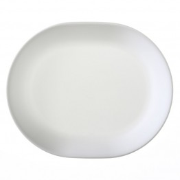 Corelle Livingware Serving Platter in Winter Frost White