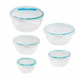 Snapware 10 Piece Airtight Plastic Food Storage Bowl Set