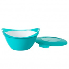 Snapware Entertain-a-Bowls 5 Quart Bowl in Turquoise