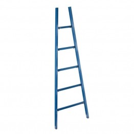 Bowery Hill Ladder Magazine Rack in Navy