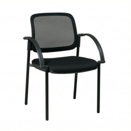 Scranton & Co Visitors Guest Chair in Black