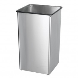 Bowery Hill Stainless Steel 36 Gallon Trash Can