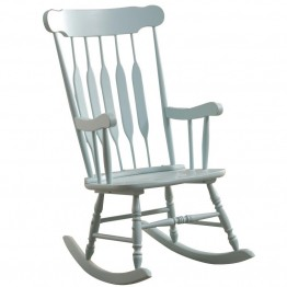 Coaster Rocking Chair in Pastel Blue