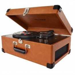 Crosley Radio Traveler Turntable in Tan