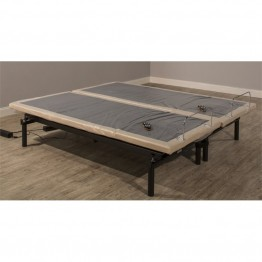 Hillsdale Wall Hugger Split California King Adjustable Bed Frame