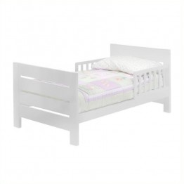 DaVinci Modena Wood Toddler Bed in White