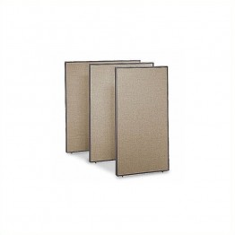 Bush Business Furniture Privacy Panel (66H x 36W) in Harvest Tan