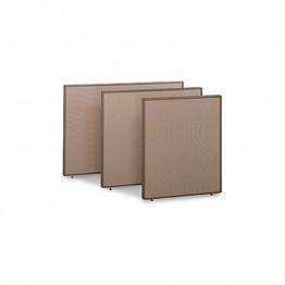Bush Business Furniture PP42560 Privacy Panel 42H x 60W in Harvest Tan