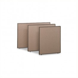 Bush Business Furniture ProPanel Privacy Panel in Harvest Tan