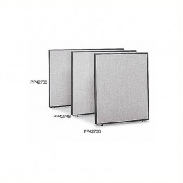 Bush Business Furniture PP42736 Privacy Panel in Light Gray