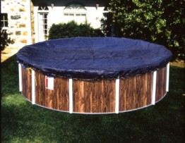 12' X 32' Oval 8 Year Arctic Maxx Winter Pool Cover