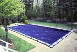 35' X 50' Arctic Maxx 12 Year Rectangular Winter Pool Cover