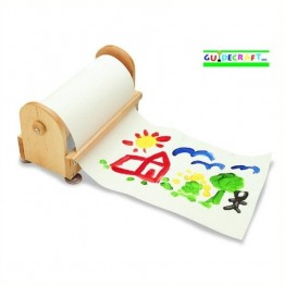 "Guidecraft Birch Paper Center with 12"""" X 300' Paper Roll"