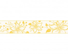 Yellow Happy Hour 259820 Wallpaper Border