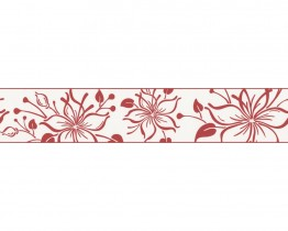 Red Happy Hour 259837 Wallpaper Border