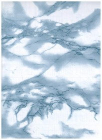 Marble Blue Contact Paper