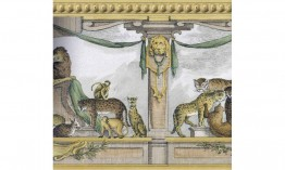 Gold Lion Molding 31522110 Wallpaper Border
